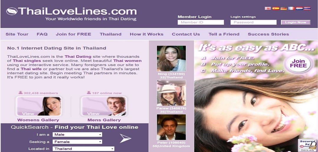Over 2 000 176 members - the 1 Thai Dating Site